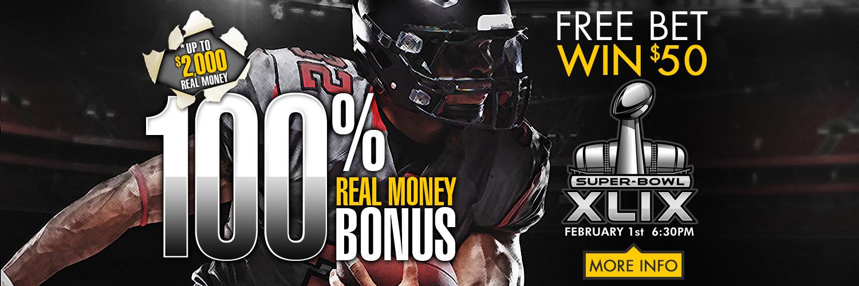 100% Real Money Bonus